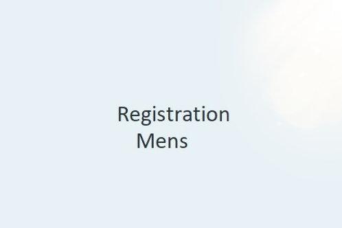 Registration - Mens