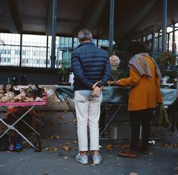 Street Market, Paris