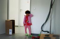 Girl, Refugee Accomodation, Germany