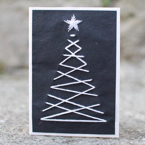 1275  - Christmas tree with Thread