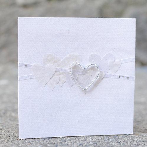 1152 - White Hearts