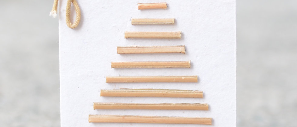 Double gift tags Tree