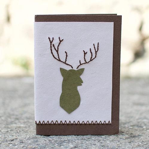 1199 - Deer Card