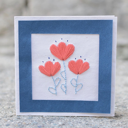 1165 - Stitching flowers