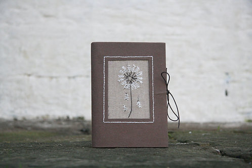 3220 - Journal with dandelion