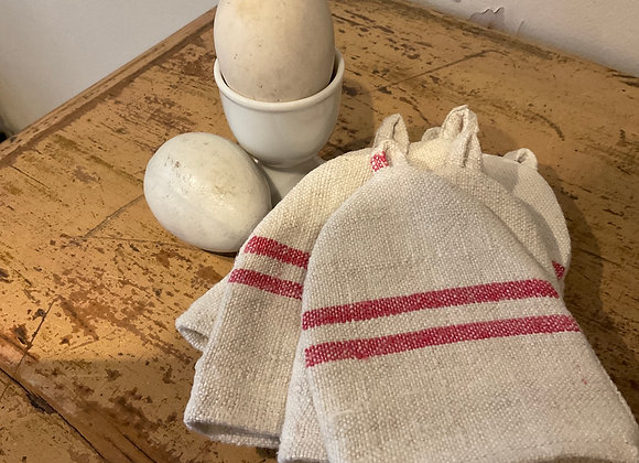 French Linen Egg Cosies