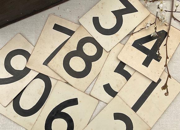 Salvaged Hymn Numbers
