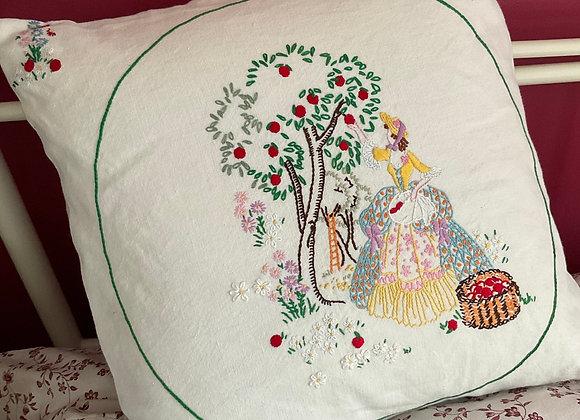 Crinoline Lady Cushion