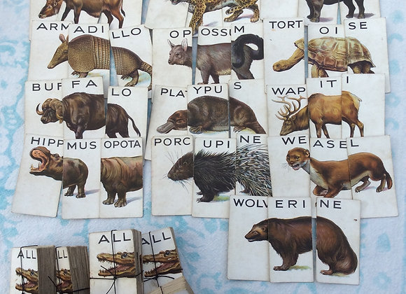 'Animalloys' Cigarette Card Sets