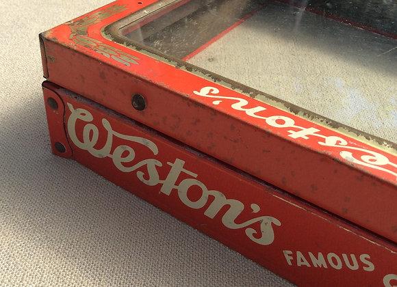 Weston's Biscuits Tin Lid