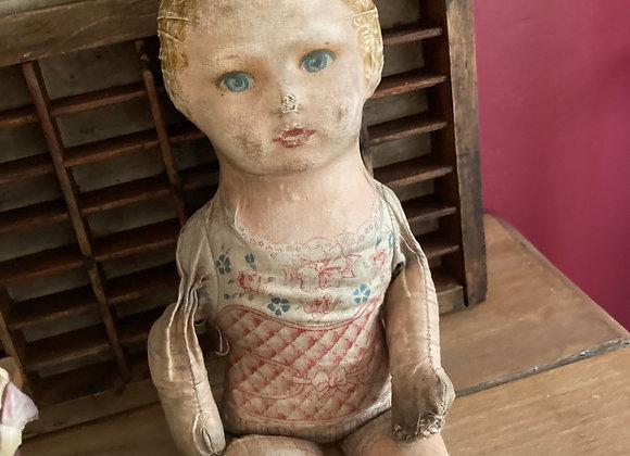 Printed Fabric Doll
