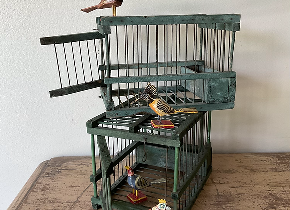 Chippy Paint Bird Cage
