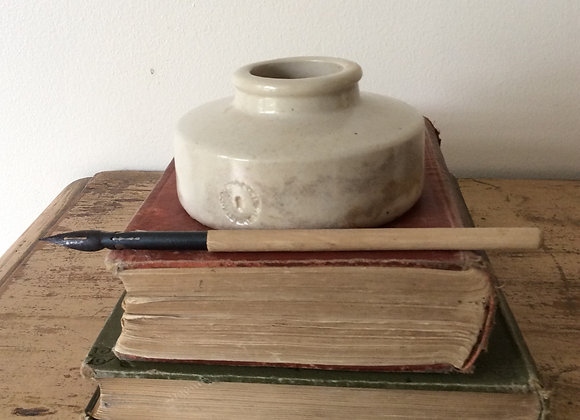 Stoneware Ink Pot