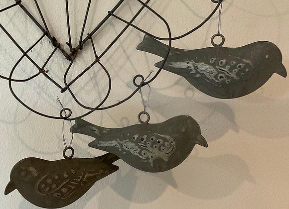 Metal Bird Decoration