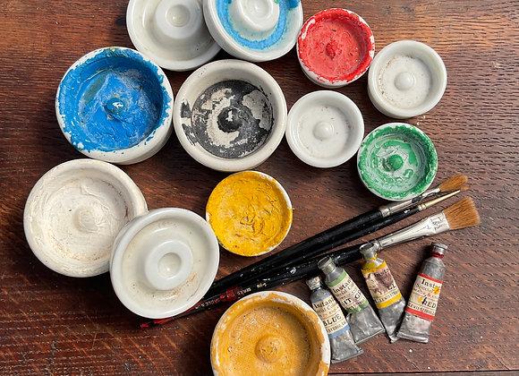 Ceramic Paint Dishes
