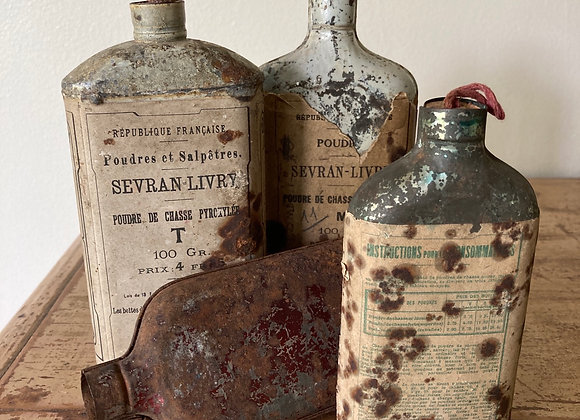 French Hunting Flasks