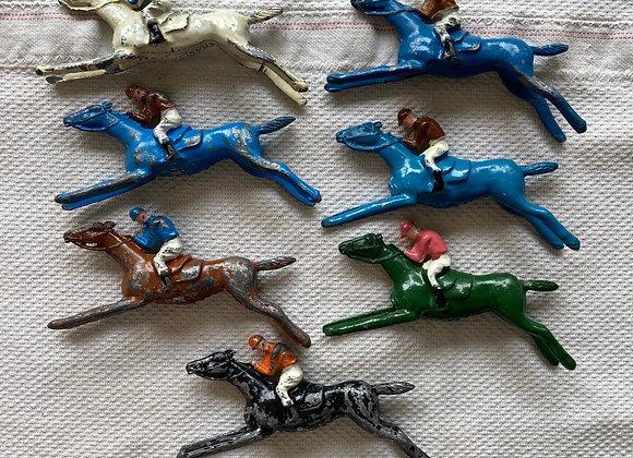 Lead race horses