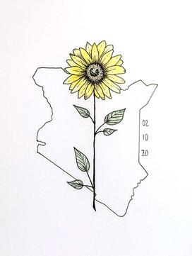 Kenyan Sunflower