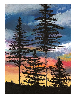 Technicolor Forest