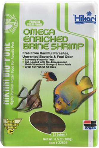 Hikari Bio-Pure Frozen Omega Enriched Brine Shrimp Food