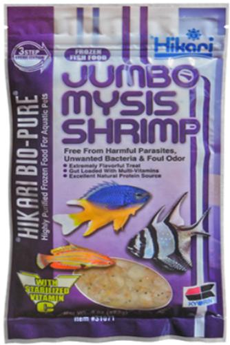 Hikari Bio Pure Jumbo Mysis Shrimp Frozen Shrimp