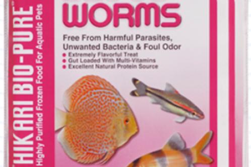 Hikari Bio Pure Blood Worms Frozen Food