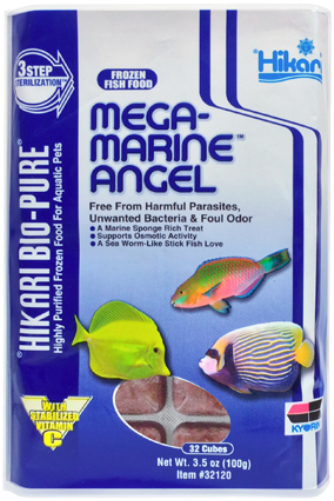 Hikari Frozen Mega Marine Angel Food