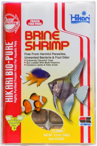 Hikari Bio Pure Brine Shrimp Frozen Food