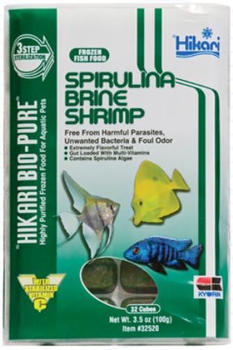 Hikari Bio-Pure Frozen Spirulina Brine Shrimp Food