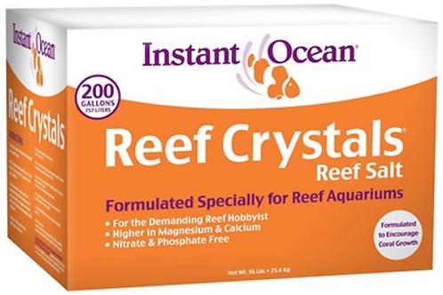 Instant Ocean Reef Crystal Reef Salt 200 Gallon Box