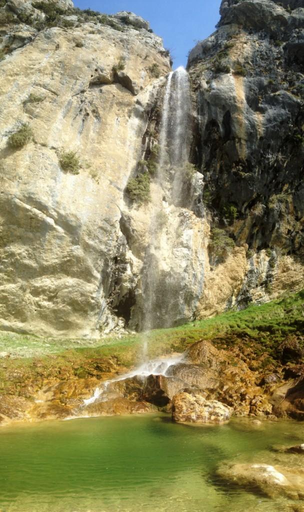 Cascade de Clars Escragnolles