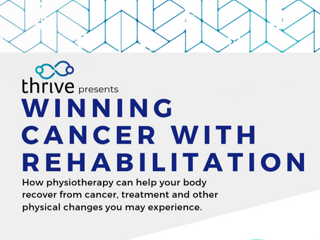 Winning Cancer with Rehabilitation