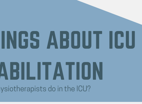 Five Things About ICU Rehabilitation