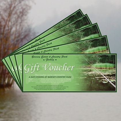 Fishing Gift Voucher (Weekdays)