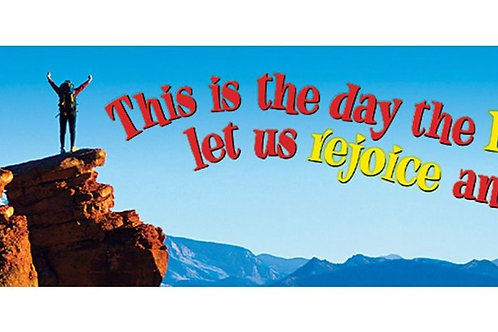 This is the day the Lord has… Quotable Expressions® Banner – 5 Feet