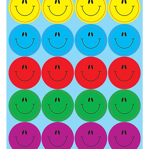 Dazzle™ Smiley Faces Sticker Collection   872 stickers