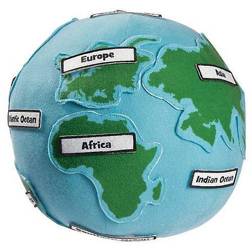 Plush Label Me Globe