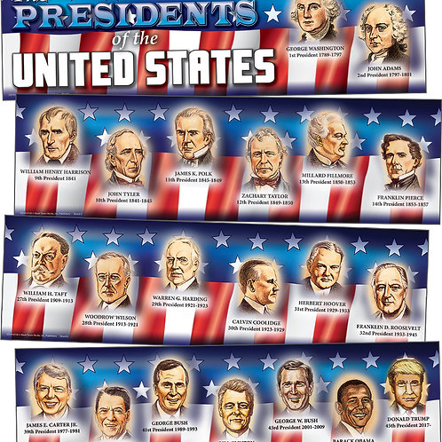 Presidents of the United States Mini Bulletin Board