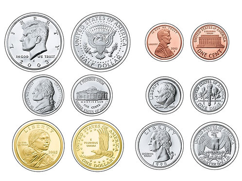 U.S. Coins Classic Accents® Variety Pack
