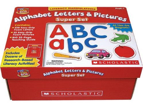 Alphabet Letters & Pictures Super Set