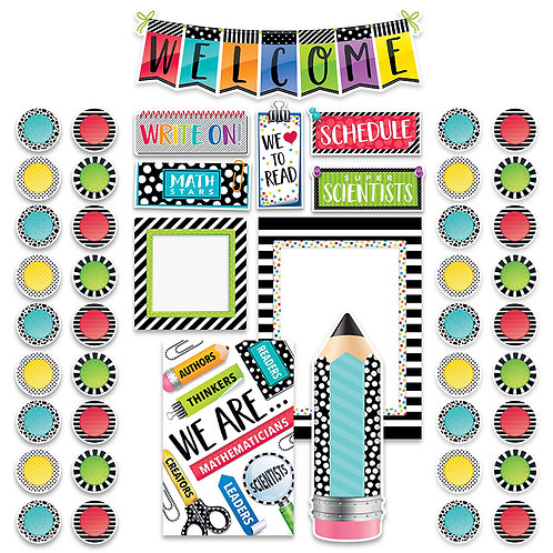 Bold & Bright Welcome Bulletin Board