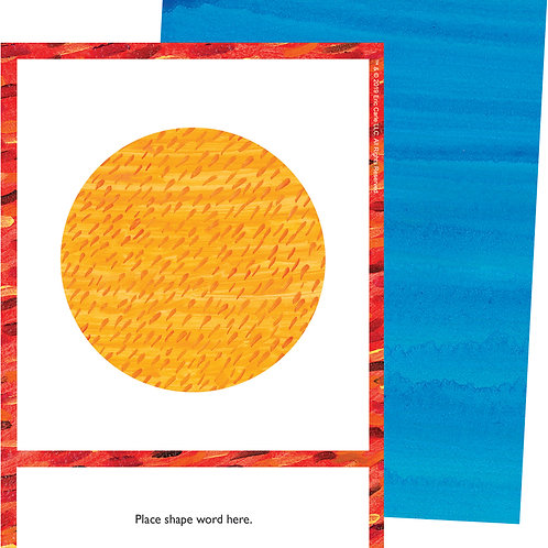 World of Eric Carle™ Shapes Learning Cards