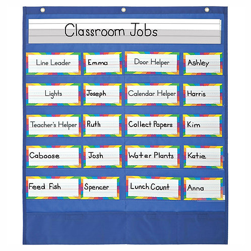 Classroom Helpers Pocket Chart and More