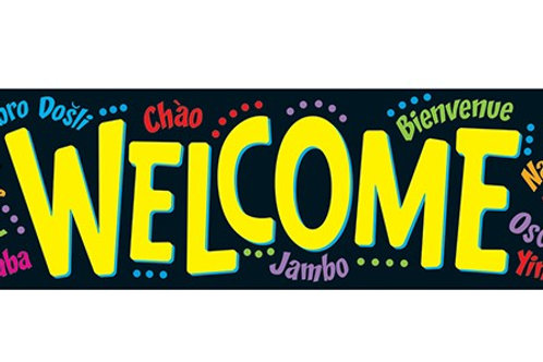 Welcome (Multilingual)