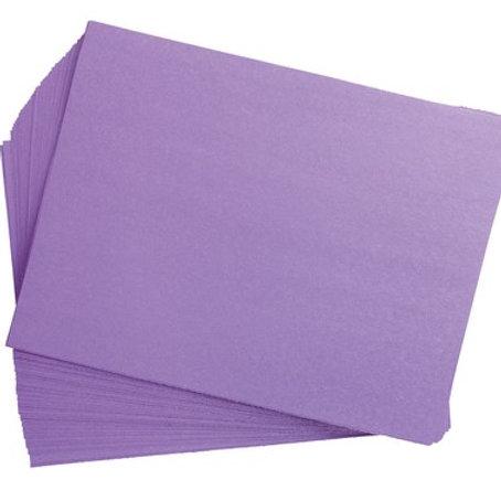 Construction Paper Purple     9 x 12    50 pack