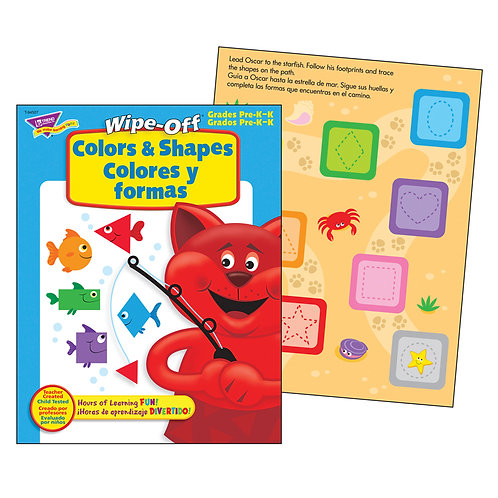 Colors & Shapes Wipe-Off® Book