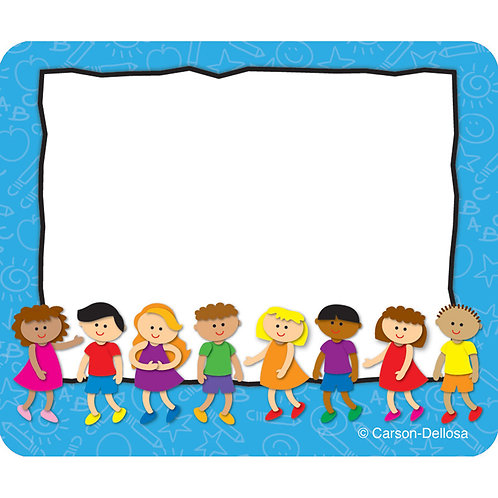 Multicultural Kids Name Tags