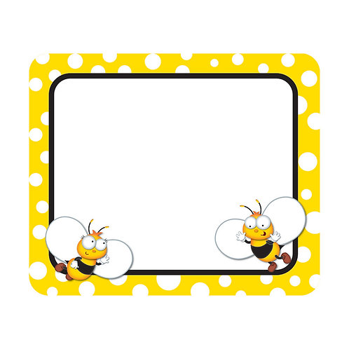 Buzz–Worthy Bees Name Tags