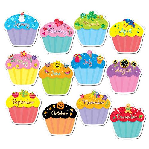 "Cupcakes 10"" Jumbo Designer Cut-Outs"