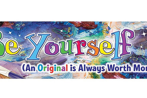 Be Yourself Classroom Banner